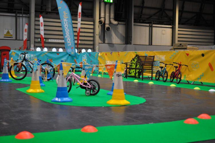 Cycle Show 2017 - kids cycle test track