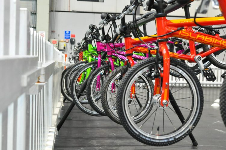 Cycle Show 2017 - Islabikes stand and standard collection