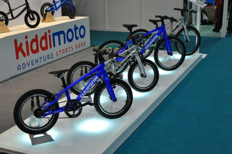 New Darwin kids bike range by Kiddimoto