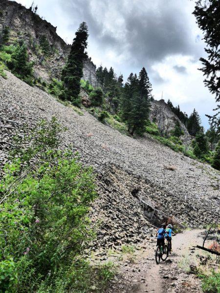 Eves Gulch Trail Ketchum Idaho