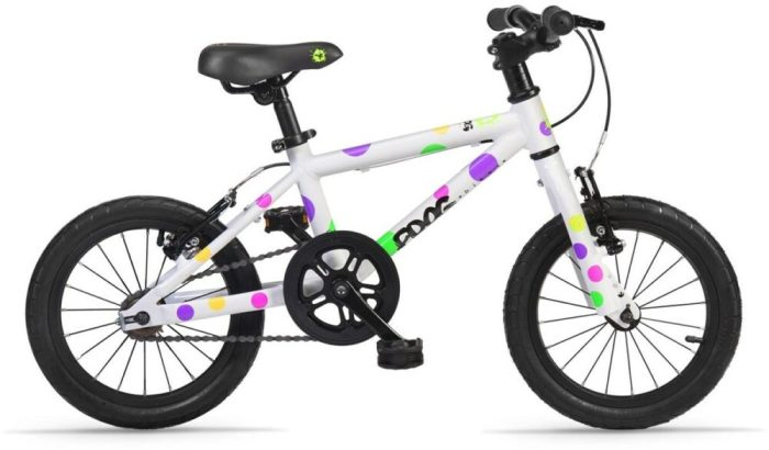 Frog 43 Spotty kids first bike with 14 inch wheels