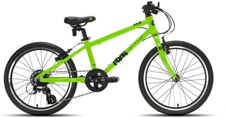 "Frog 55 kids bike is one of the best 20"" wheel hybrid bikes around for kids aged 6 year, 7 year or 8 year of age wanting to cycle on road or off road."
