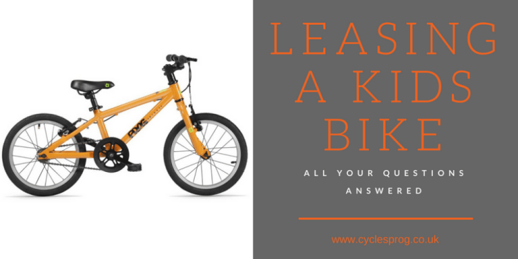 Leasing a kids bike - everything you want to know