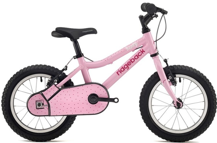 "Ridgeback Honey 14"" wheeled kids bike is ideal for 3 year old girls and 4 year old girls who are looking for a first bicycle"
