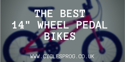 """The best 14"""" wheel kids bikes with pedals"""