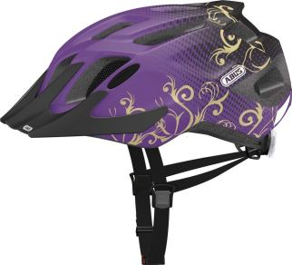 Abus kids cycle helmet with build in rear light