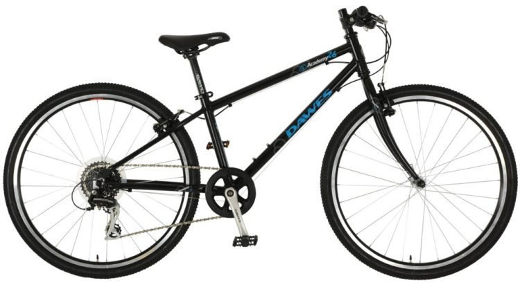 "best kids 26"" wheel hybrid bikes - Dawes Academy 26 in black"