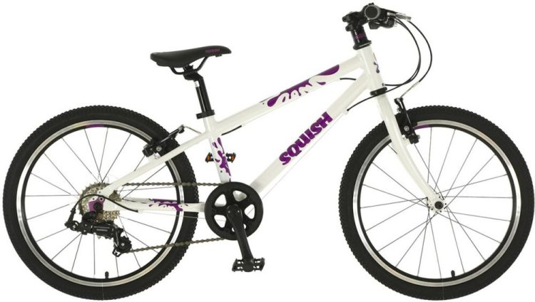 "Squish 20 cheap kids bike - a good quality kids 20"" wheel bicycle with gears, at a decent price."