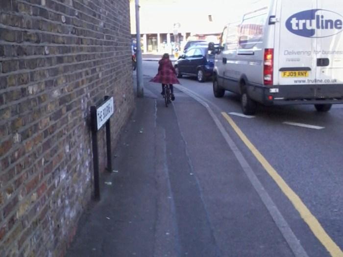 Bike to School on pavement 2