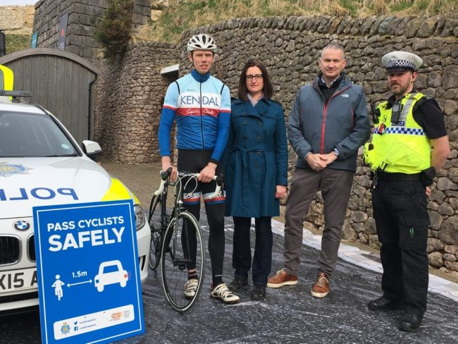 Operation Close Pass Cumbria launch