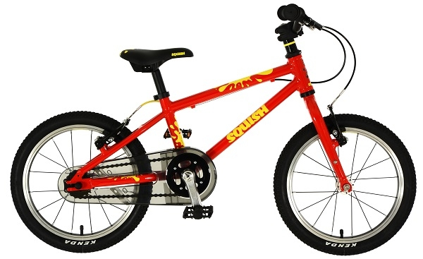 2b19d1be15a As you'd expect, the Squish 16 is a lightweight bicycle specified with child  ...