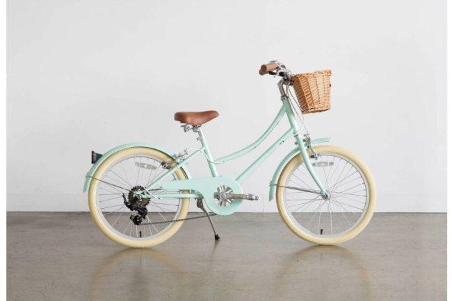 Bobbin Gingersnap 20 green - a great bike for a 6 year old girl