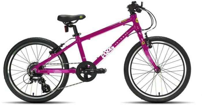 Frog 55 Piink bike for a 6 year old girl - Black Friday deals on girls bikes
