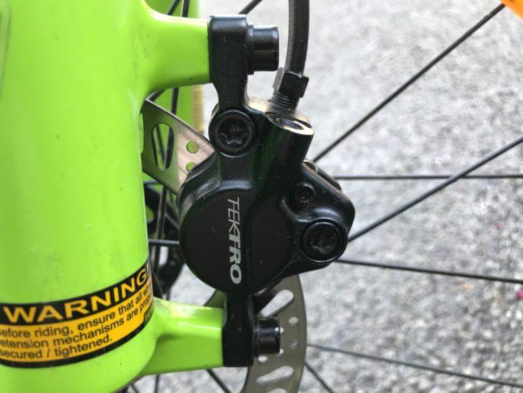 Cube Kid 240SL - Tektro hydraulic disc brakes