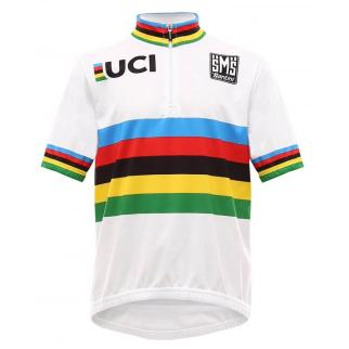 Kids Sized UCI world champion cycling jersey
