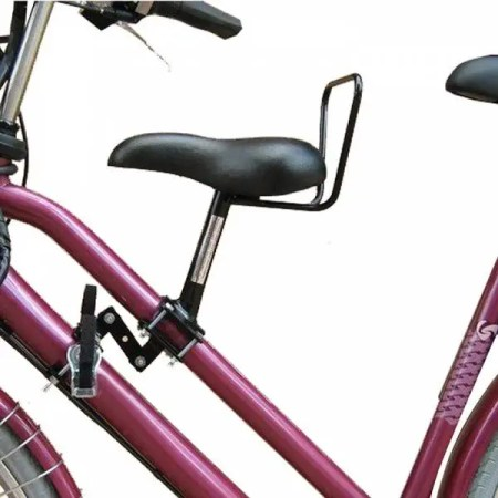 Dutch frame mounted front seat - Holland have some of the bike seats for older children