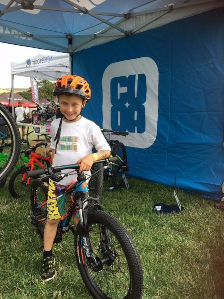 Testing out Cuda kids bikes at Ard Rock 2018