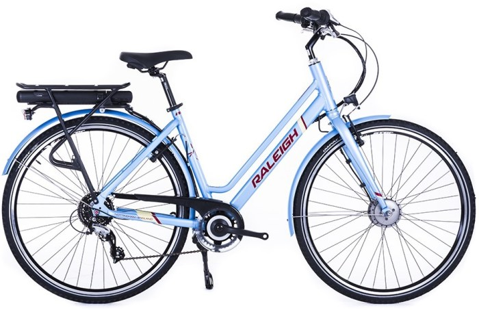 Cheap Raleigh e-assist electric bike Boxing Day and New Year sale deals