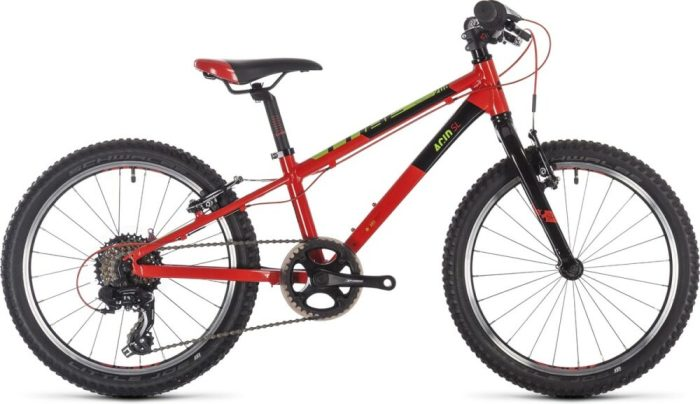 """Cube Acid 200 SL - a great 20"""" wheel bike for a 6 year old"""
