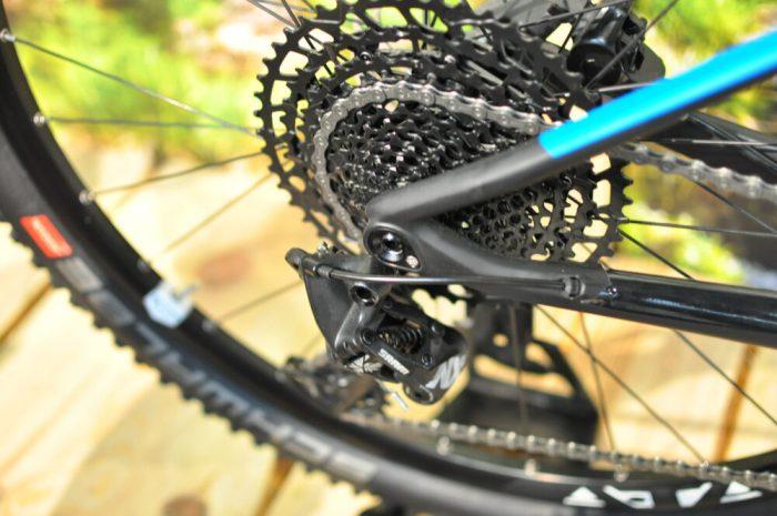 Cube Reaction 6:2 carbon fibre race mountain bike