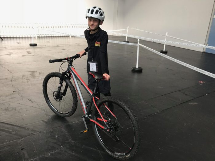 Testing out the Islabikes Pro Series Creig 26 at the 2018 Cycle Show