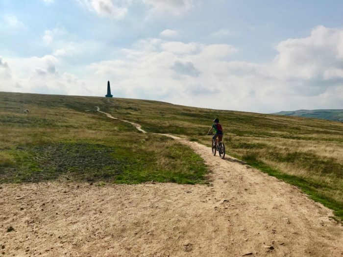Frog mtb 69 on its way to Stoodley Pike
