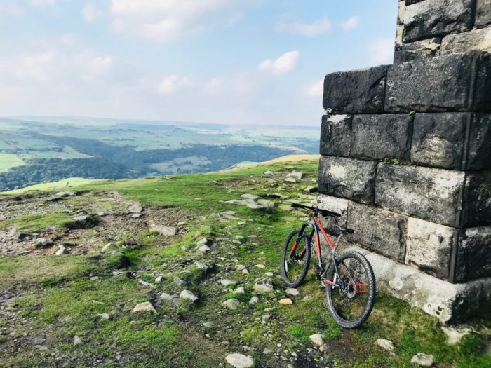 Frog mtb 69 at Stoodley Pike