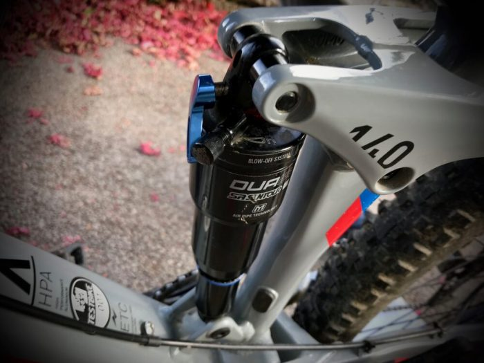 Cube Stereo 140 Youth SR Suntour DUAir rear shock