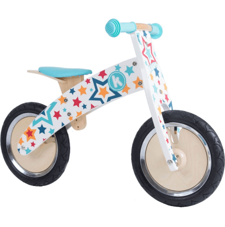 Kiddimoto Curve Stars Balance Bike is available discounted before Black Friday