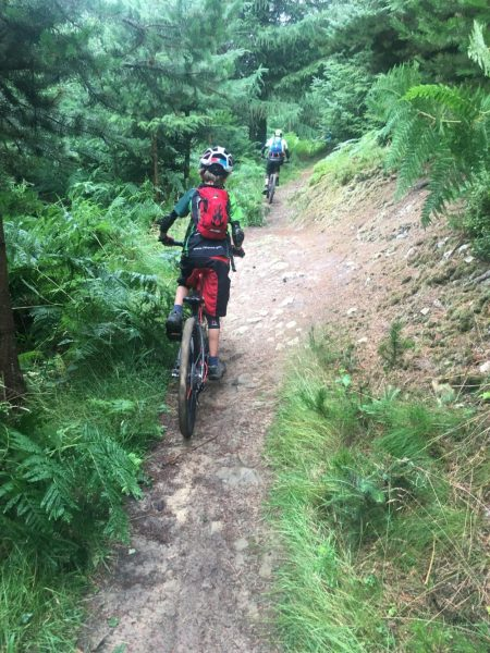 Test riding the Frog MTB 69 at Dalby Forest on the red route