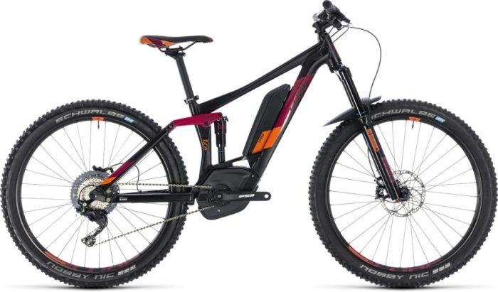 Cube Sting Hybrid Race MTB womens electric bike black friday deals