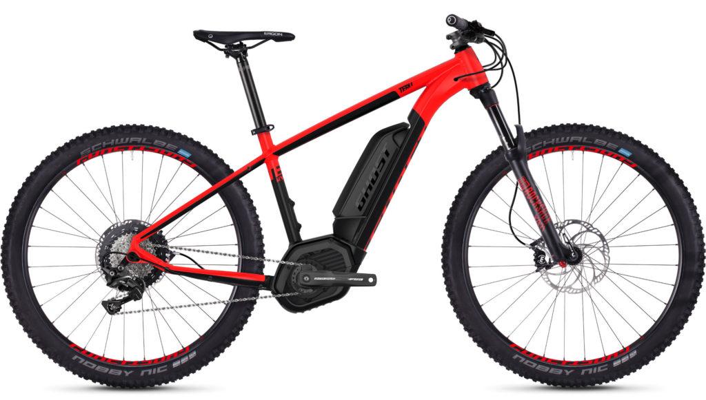Ghost Teru B7.7+ 650b ebike - an e-mountain bike bargain for Black Friday