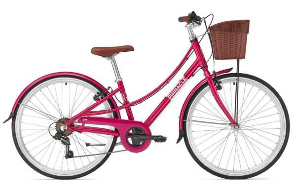 Pinnacle Californium girls bike with Evans Cycles city bike for a girl