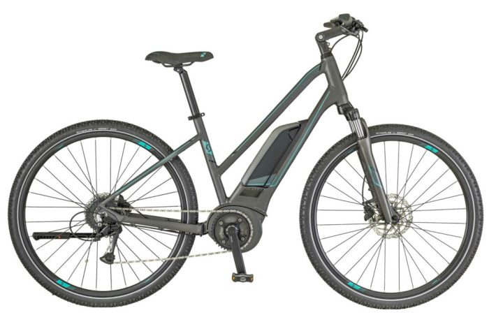 Scott esub Cross 20 womens ebike Black Friday discount
