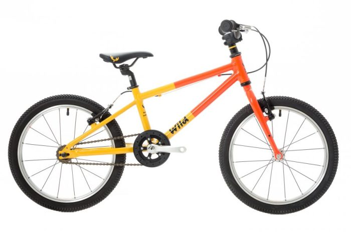 Wild Bikes 18 inch wheel lightweight kids bike
