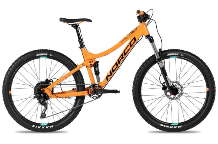 Norco Fluid 26 FS - full suspension kids mountain bikes