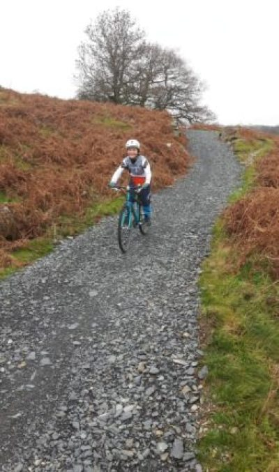 Islabikes Beinn 27 test ride - descending and testing the brakes
