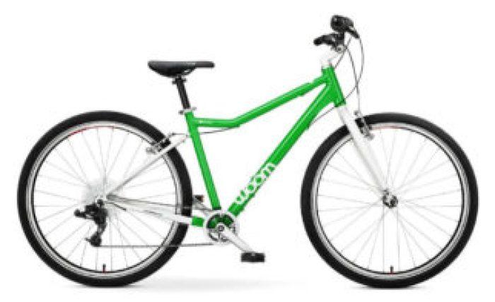 """Woom 6 is a 26"""" wheel kids bike"""