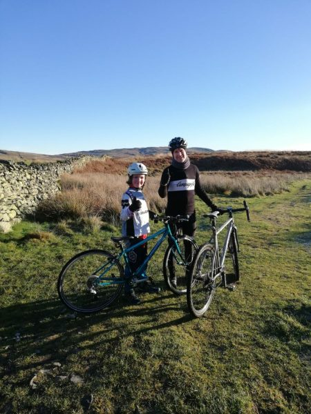 Islabikes Beinn 27 kids bike review - using the bike for mountain biking with 9 year old in Cumbria
