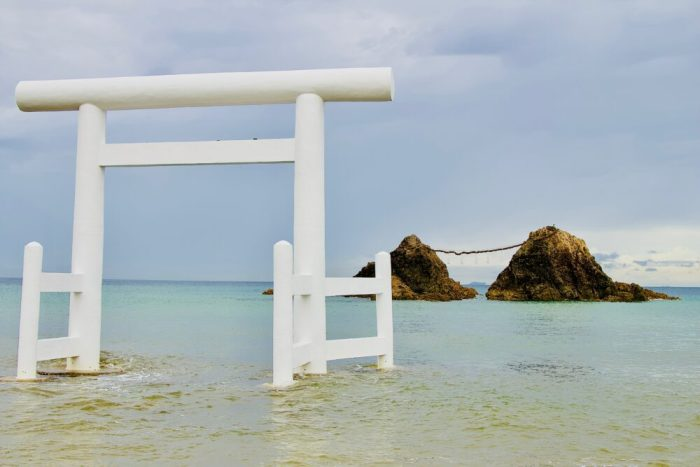 Fukuoka Beach Japan cycling holiday