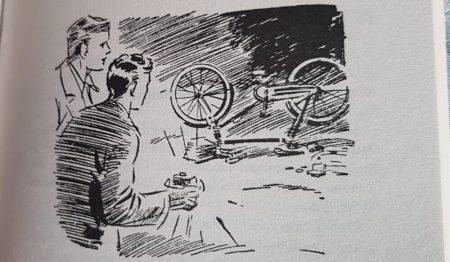 Famous Five on bikes