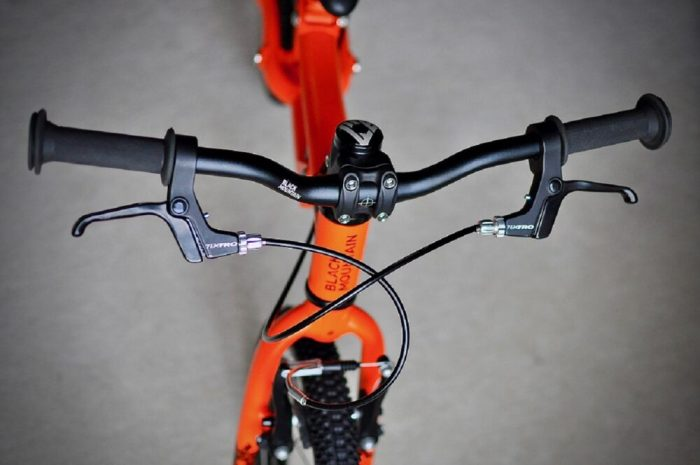 Black Mountain Pinto review - balance bike with two brakes