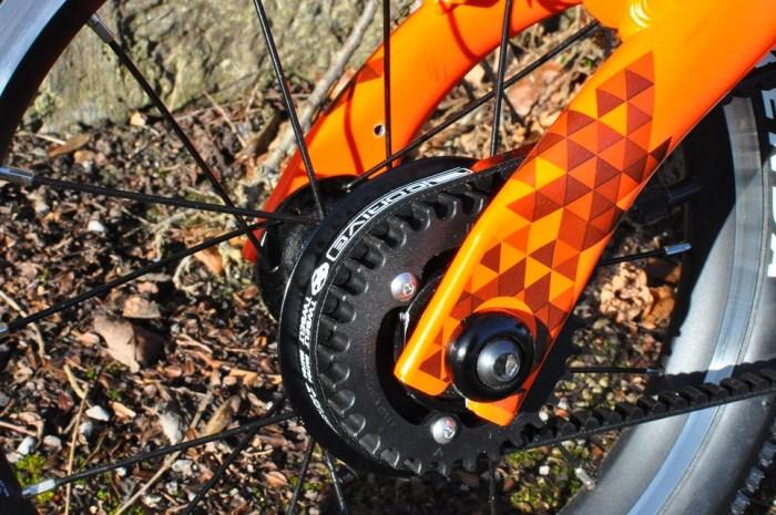 Black Mountain kids bikes wheel nuts