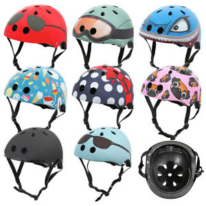 Mini Hornit kids cycle helmets with fun design