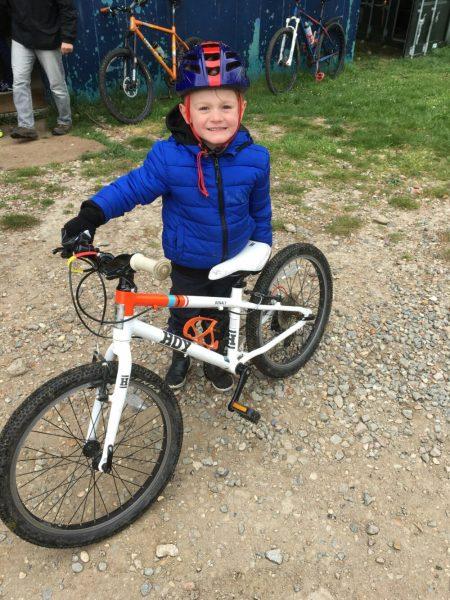 Hoy Bonaly 20 kids geared bike