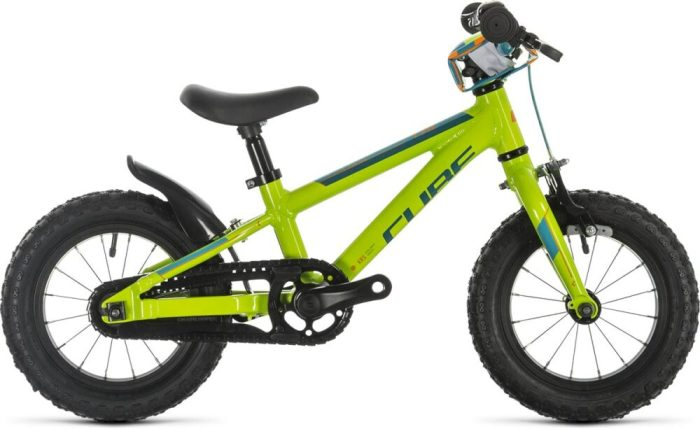 "Cube Cubie 120 is a lightweight 12"" wheel first pedal bike for children"