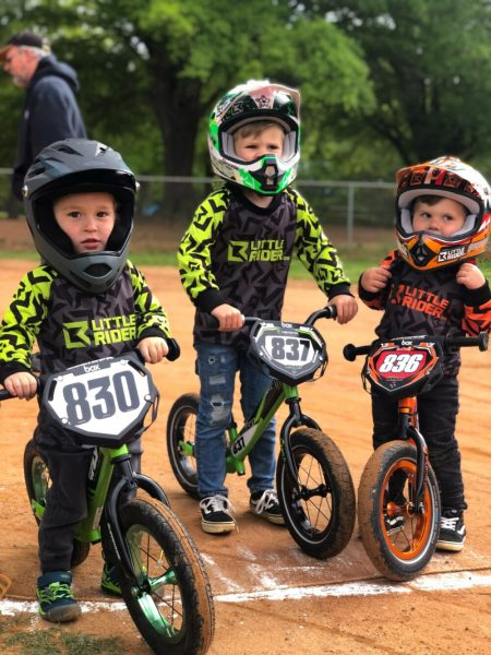 Little Rider toddler MTB jerseys