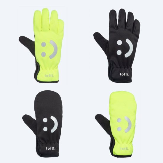 Loffi Kids Winter Cycling Gloves and mittens from age 4 years