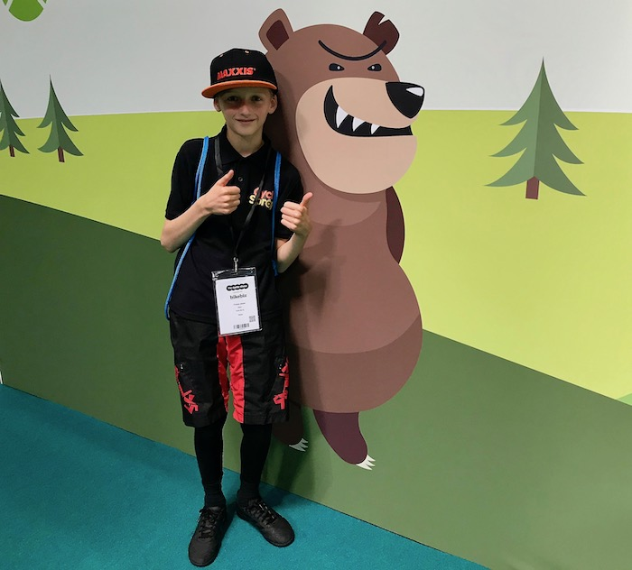 Cycle Show 2019 - T with Bear