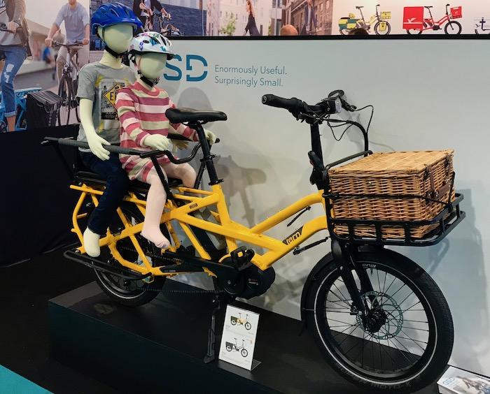 Cycle Show 2019 - Tern GSD cargo bike